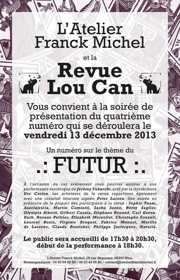 Lancement revue Lou Can N°4