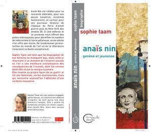 couverture Anaïs Nin genèse et jeunesse