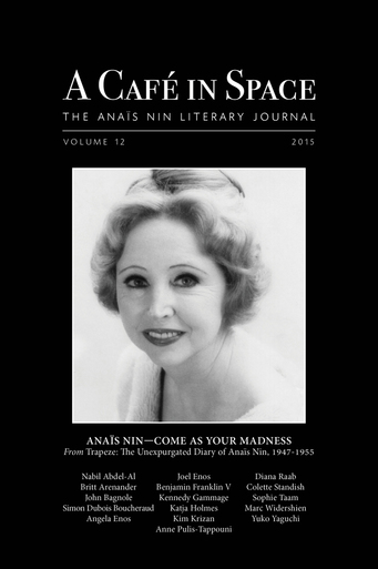Anaïs Nin cafe in space N°12