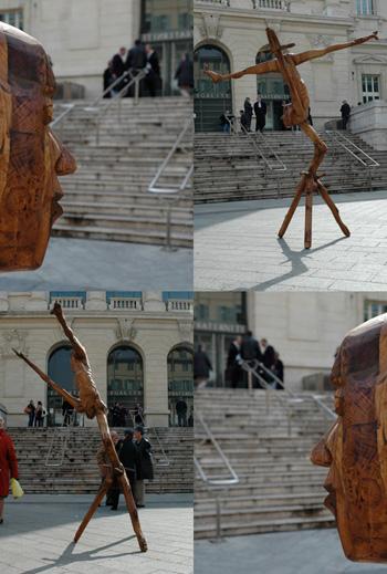 Le juge, sculpture de Louis Dollé